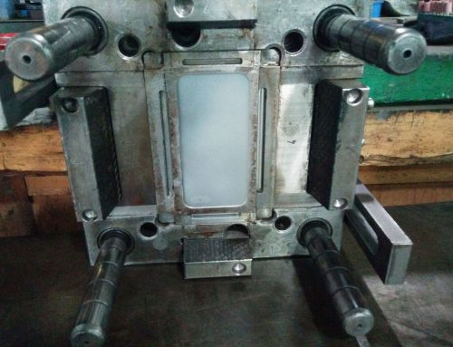 Cellphone case injection mold