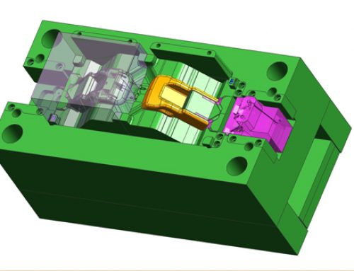 Complicated side core ,2 cavity moulding design