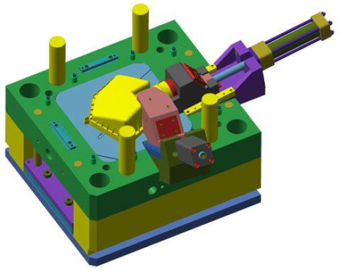 PVC plastic moulding design