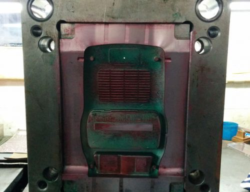 PP Polymer injection mould picture
